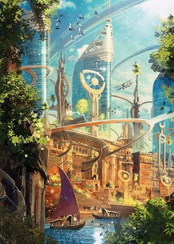 'Karma Planet' Poster Print by Luis Peres _ Displate