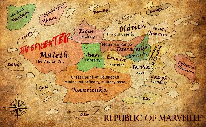 EBG round 23 world map isle remake new