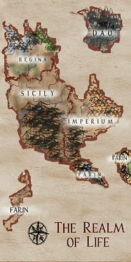 the realm of life map.