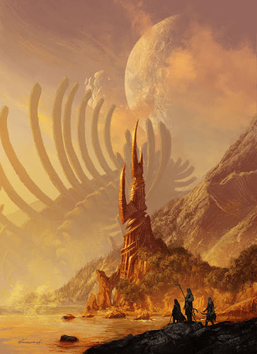 Art Fantastique _ découvrez les peintures digitales de Michael Komarck, maître de l'heroic fantasy